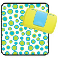Retro Circles Diaper Wallet