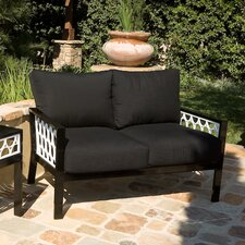 <strong>Koverton</strong> Parkview Cast Deep Seating Loveseat with Cushions