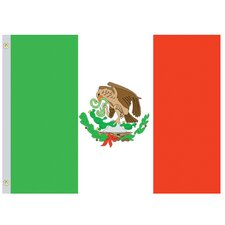 Mexico National Traditional Flag