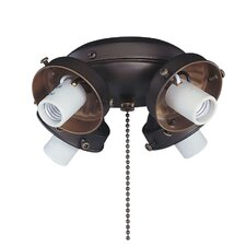 40W Four Light E12 Kit Fitter in Oil Rubbed Bronze