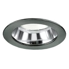 "4"" Specular Cone CL w/Brushed Aluminium  Trim Ring"