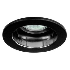 "3"" Reflector Trim for Recessed Housing with Black Ring in Clear"