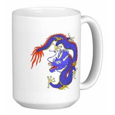 Chinese Dragon 15 oz. Coffee / Tea Mug (Set of 4)