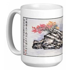 <strong>Oriental Design Gallery</strong> Chinese Calligraphy Art Hilltop House 15 oz. Coffee / Tea Mug