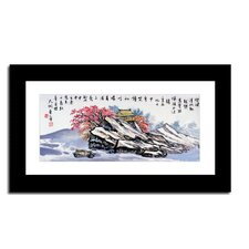 Mountain House by Lin Hung Tsung Framed Painting Print