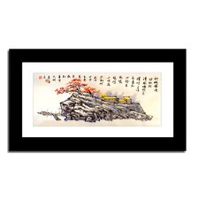 Fishing Village by Lin Hung Tsung Framed Painting Print