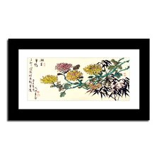 Chrysanthemum by Lin Hung Tsung Framed Painting Print