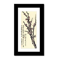 Plum Blossoms by Lin Hung Tsung Framed Graphic Art