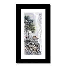 Gazebo by Lin Hung Tsung Framed Painting Print