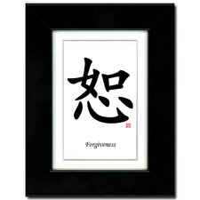 Forgiveness Framed Textual Art