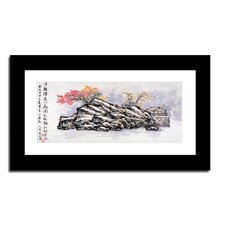 Hilltop House by Lin Hung Tsung Framed Graphic Art