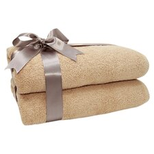 <strong>Linum Home Textiles</strong> Luxury Hotel & Spa 100% Turkish Cotton Soft Twist Bath Towel (Set of 2)