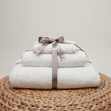 <strong>Linum Home Textiles</strong> Soft Twist 100% Turkish Cotton 3 Piece Towel Set