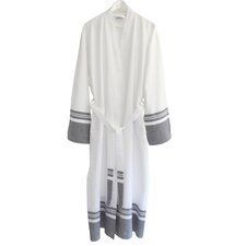 Big and Tall Unisex Super Luxe Pestemal Bathrobe