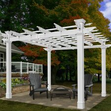 <strong>New England Arbors</strong> Mandalay Pergola