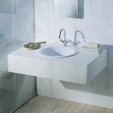 <strong>Moda Collection</strong> Silhouette Drop-In Bathroom Sink