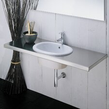 Silhouette Drop-In Bathroom Sink