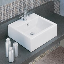 <strong>Moda Collection</strong> Domino Vessel Bathroom Sink
