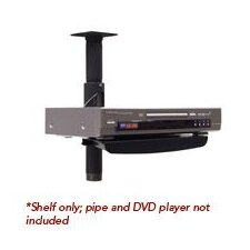 Accessory Shelf for Flat Panel Pole Installations