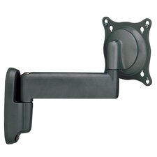 "Small Single Arm Wall Mount w/ 10"" Extension for 10"" - 32"" TVs"