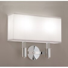 <strong>ILEX Lighting</strong> 5th Ave 2 Light Double Wall Sconce