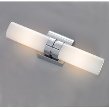 <strong>ILEX Lighting</strong> Wave 2 Light Double Wall Sconce