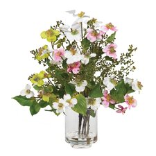 <strong>Nearly Natural</strong> Silk Dogwood Arrangement