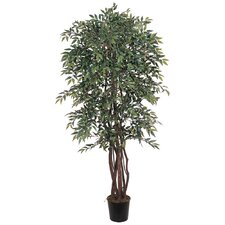 "72"" Silk Similax Tree in Green"