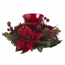 Poinsettia and Berry Hurricane