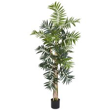 2' Bamboo Palm Silk Tree
