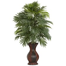 <strong>Nearly Natural</strong> Areca Palm Floor Plant in Urn