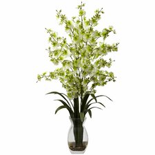 Dancing Lady Orchid with Vase Arrangement