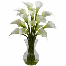 Galla Calla Lily with Vase Arrangement