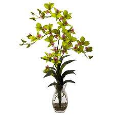 Dendrobium Orchid with Vase Arrangement