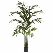 Nearly Natural Kentia Palm Tree in Pot