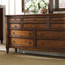 American Kaleidoscope 10 Drawer Dresser