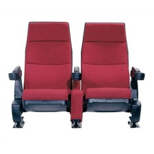 Regal Row of Two Movie Theater Chairs