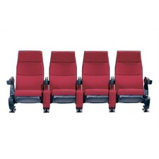 Regal Row of Four Movie Theater Chairs