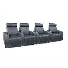 <strong>Bass</strong> Executive Home Theater Seating (Row of 4)