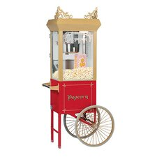 <strong>Bass</strong> 6 oz Antique Popcorn Machine w/ Cart