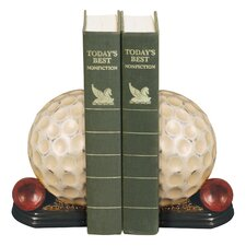 Tee Time Book End (Set of 2)