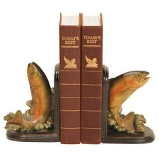 Rainbow Trout Book Ends (Set of 2)