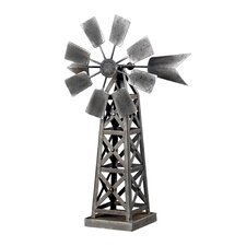 Industrial Wind Mill Figurine