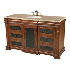 "59"" Ormonde Walnut Tone Single Vanity Set"