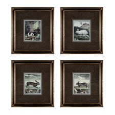 <strong>Sterling Industries</strong> Rabbits Wall Art (Set of 4)