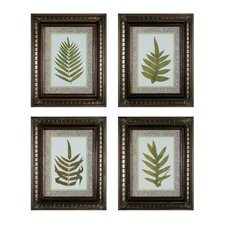 <strong>Sterling Industries</strong> Fashionable Fern Wall Art (Set of 4)