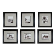 <strong>Sterling Industries</strong> Etchings Wall Art (Set of 6)