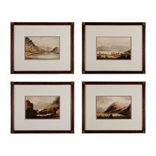 <strong>Sterling Industries</strong> Valley Renderings Wall Art (Set of 4)