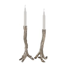 Composite Candlestick (Set of 2)