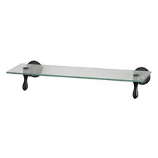 "Glass 18"" x 4"" Shelf"